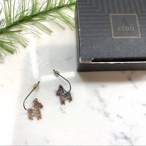 Vintage Avon 1996 zodiac Aries earrings